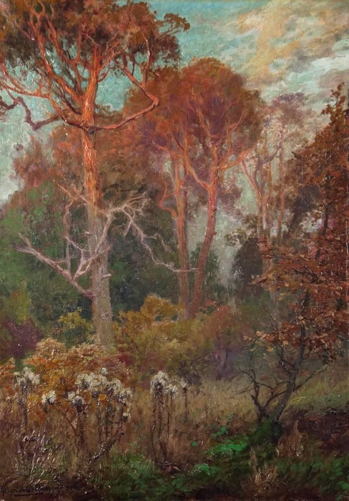 Heinrich Böhmer d. Ä. (1852-1930) » Öl-Gemälde Naturalismus Impressionismus Düsseldorfer Malerschule