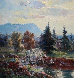 Franz Marx (1889-1960) » Öl-Gemälde Impressionismus Münchner Malerschule
