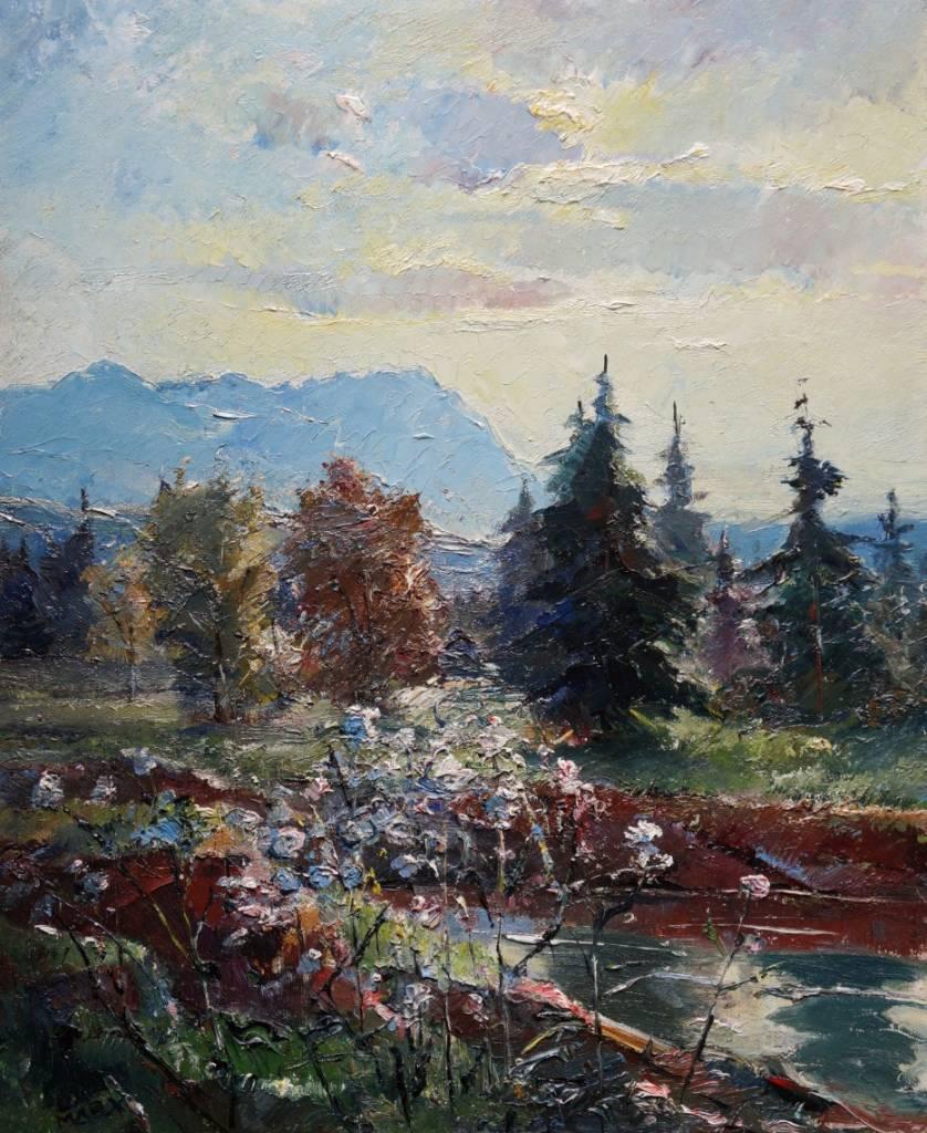 Franz Marx (1889-1960) » Öl-Gemälde Impressionismus Münchner Malerschule süddeutsche Malerei