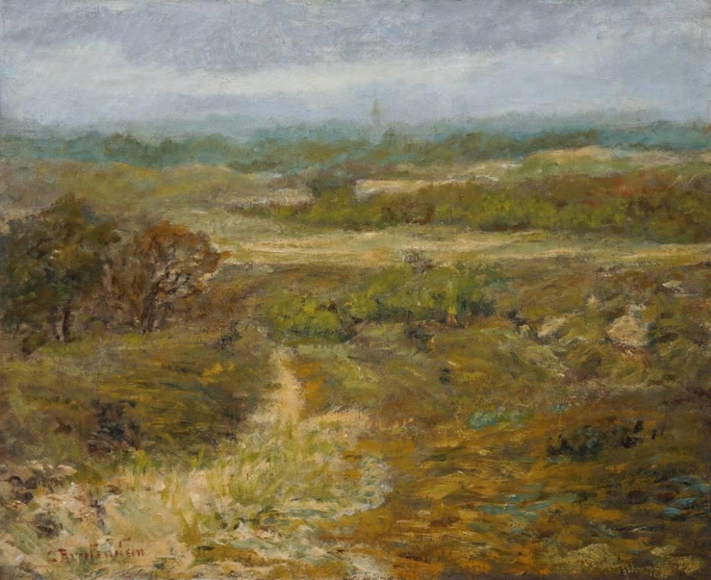 Carl August Breitenstein (1864 - 1921) » Öl-Gemälde Impressionismus Landschaft Haager Schule