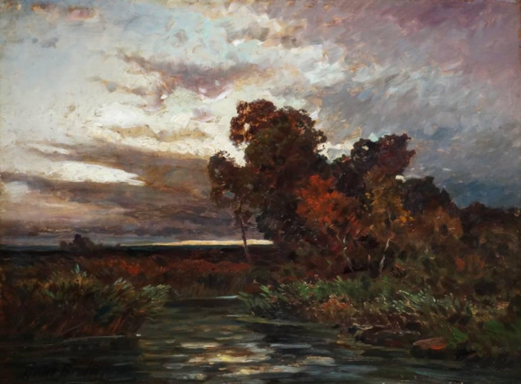 Franz Reder-Broili (1854-1918) » Öl-Gemälde Impressionismus Dachauer Künstlerkolonie Münchner Malerschule