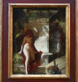 Maler des 19. Jahrhunderts wohl Hans Makart (1840 - 1884) Umkreis » Öl-Gemälde Historienmalerei
