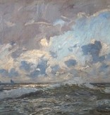 Otto Ackermann (1872 - 1953) » Öl-Gemälde Impressionismus Meer Küstenlandschaft Düsseldorfer Malerschule