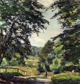 Otto Schulz-Stradtmann (1892 - 1960) » Öl-Gemälde Impressionismus Landschaft süddeutsche Malerei