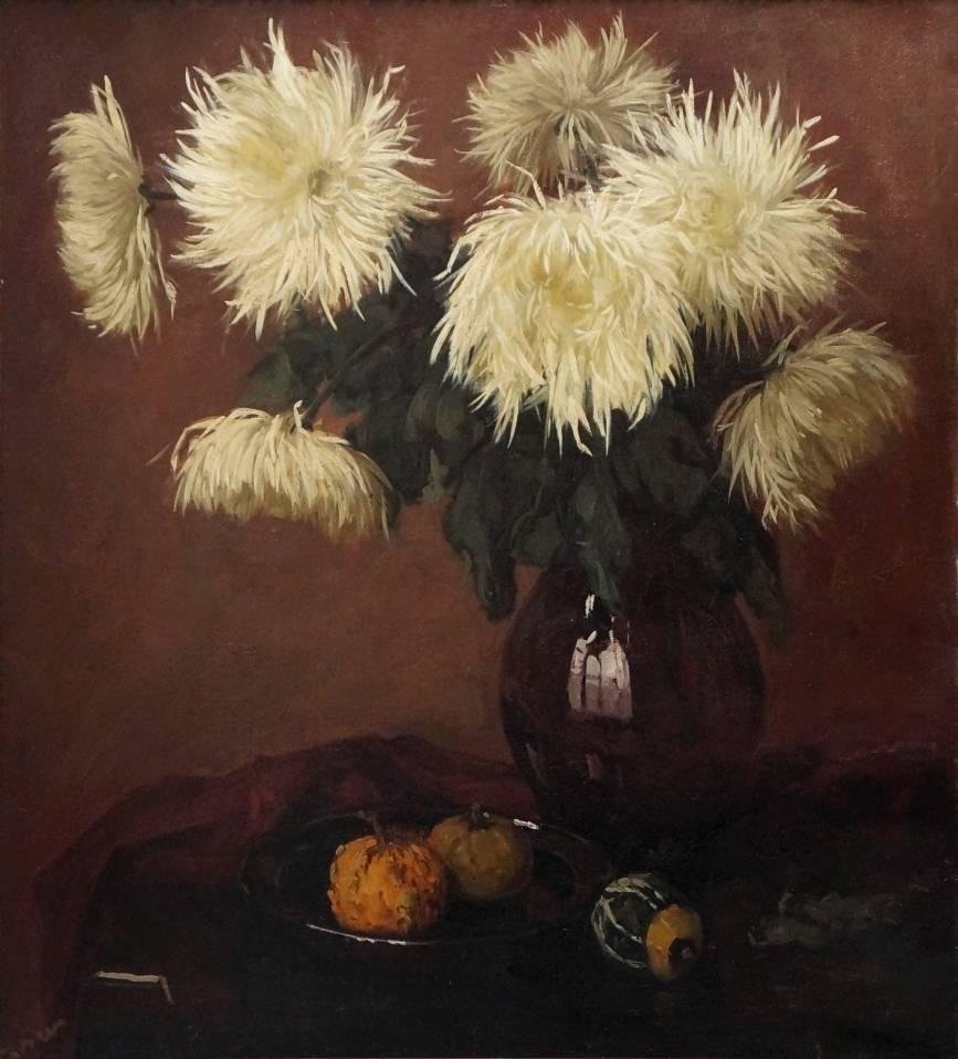 Maler des 19. Jahrhunderts  » Öl-Gemälde Realismus Stillleben
