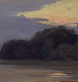 Ludwig Rösch (1865 - 1936) » Öl-Gemälde Impressionismus mediterrane Landschaft Wiener Schule Jugendstil