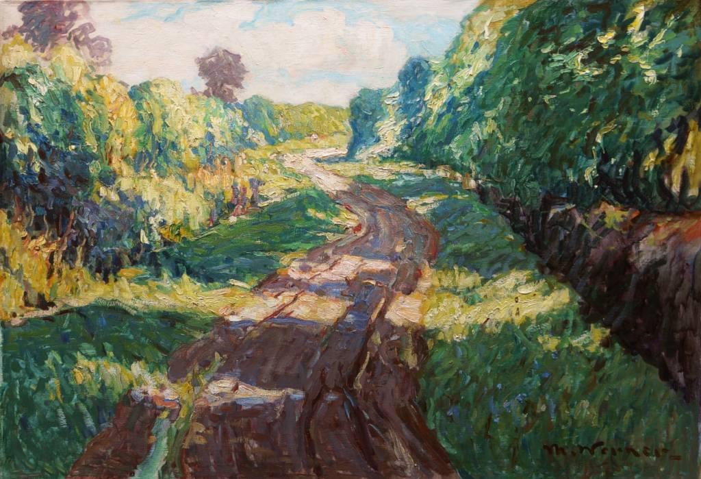Max Werner (1879 - 1952) » Öl-Gemälde Impressionismus norddeutsche Malerei