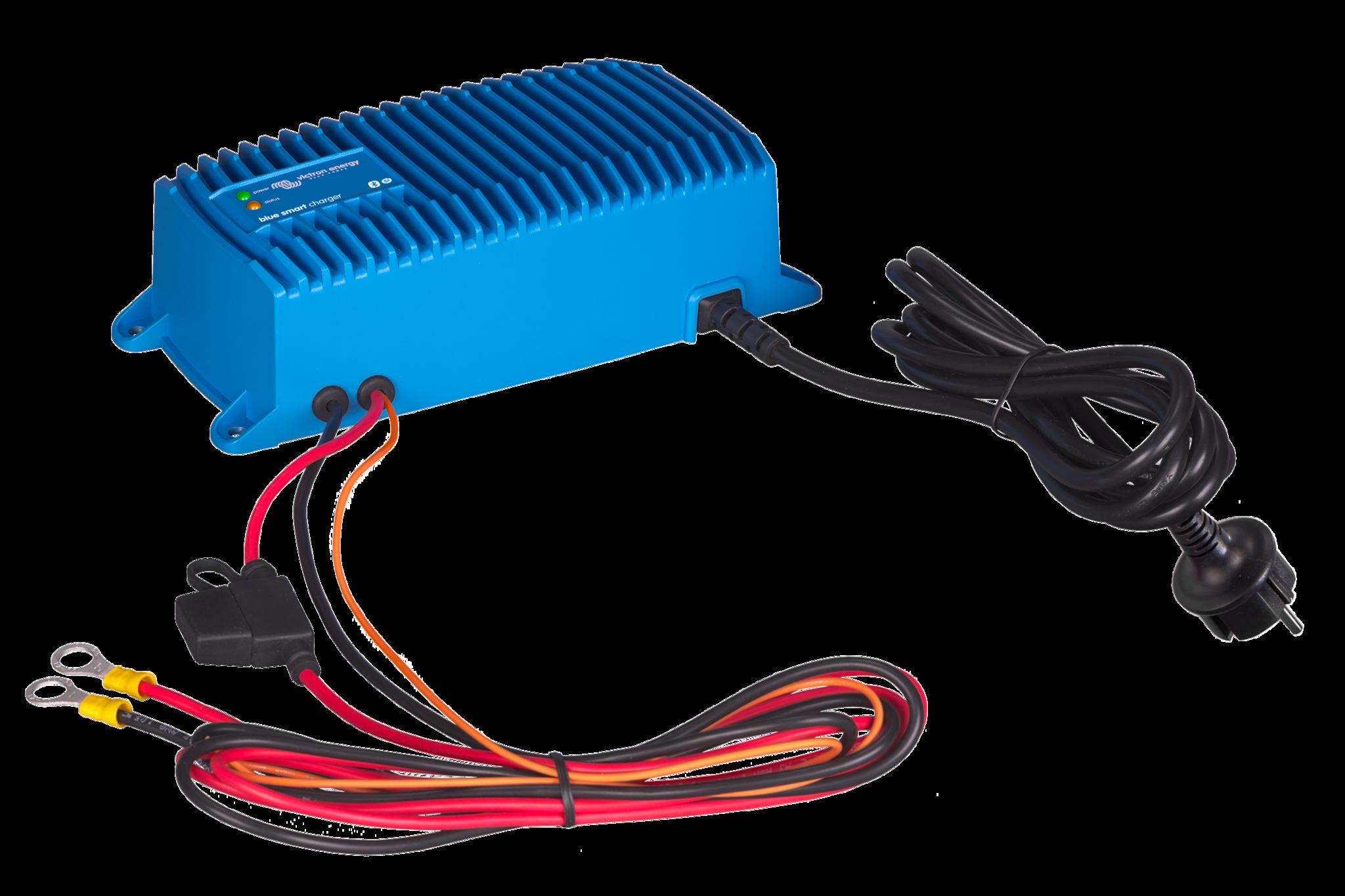 Batterie Ladegerät Microprozessor gesteuert Blue Smart IP67 (Wasserdicht)