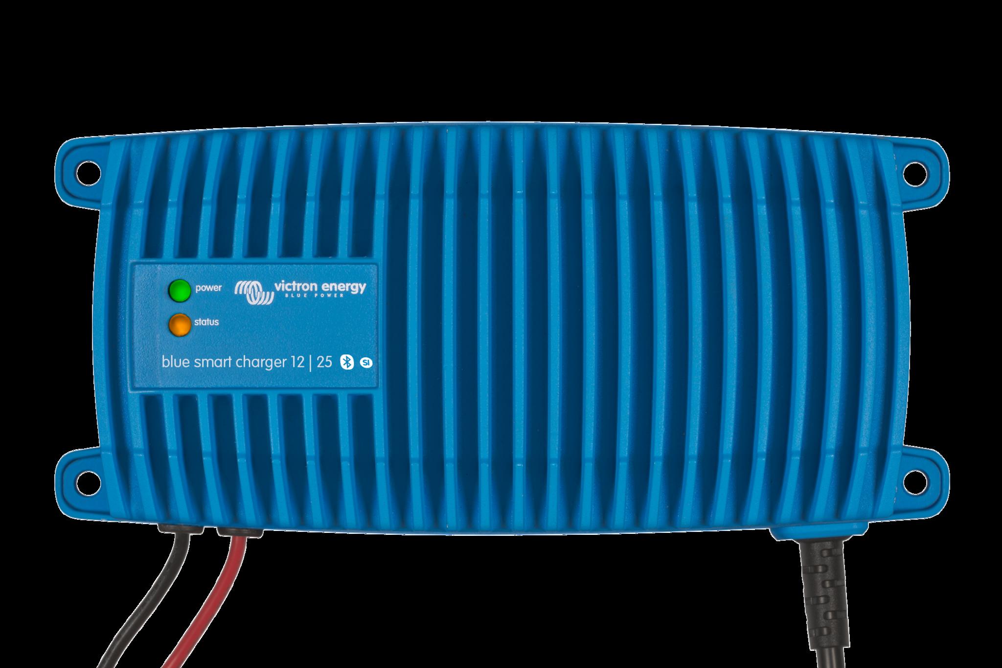 Victron Energy Chargeurs de batterie contrôlés par microprozessor Blue Smart IP67 (Imperméable)