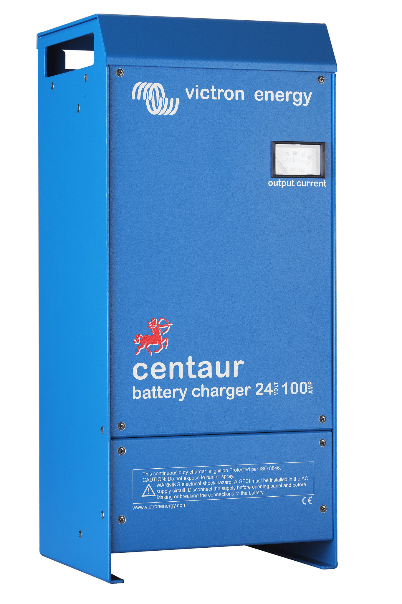 Battery charger analog control