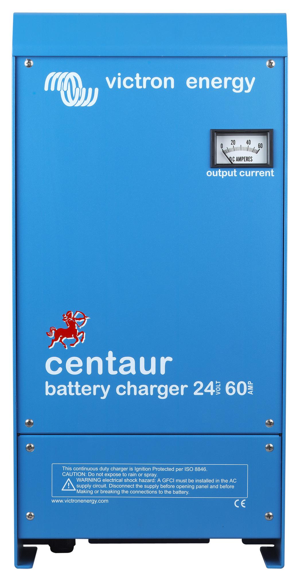 Commande analogique du chargeur de batterie