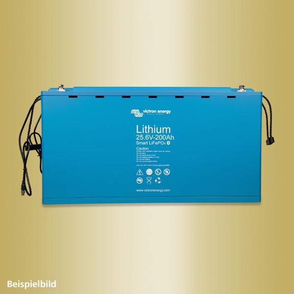Lithium battery 12,8V & 25,6V Smart