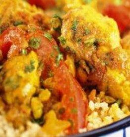 Oosterse kip met groenten en couscous