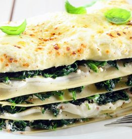 Lasagne pompoen, spinazie en ricotta (V)