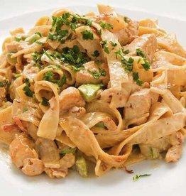 Tagliatelle Carbonara met kip & spinazie