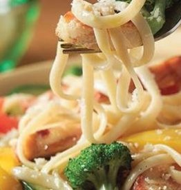 Pasta met biefstukreepjes & groenten