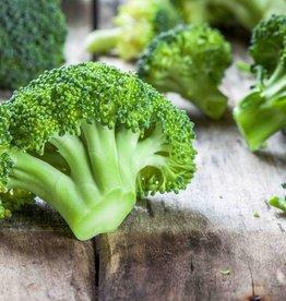 Gehaktbal, aardappelen en broccoli