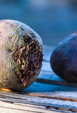 Speklapje met aardappelpuree & koolraapjes in groentesaus