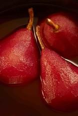 Boermarke rode stoofpeerpartjes