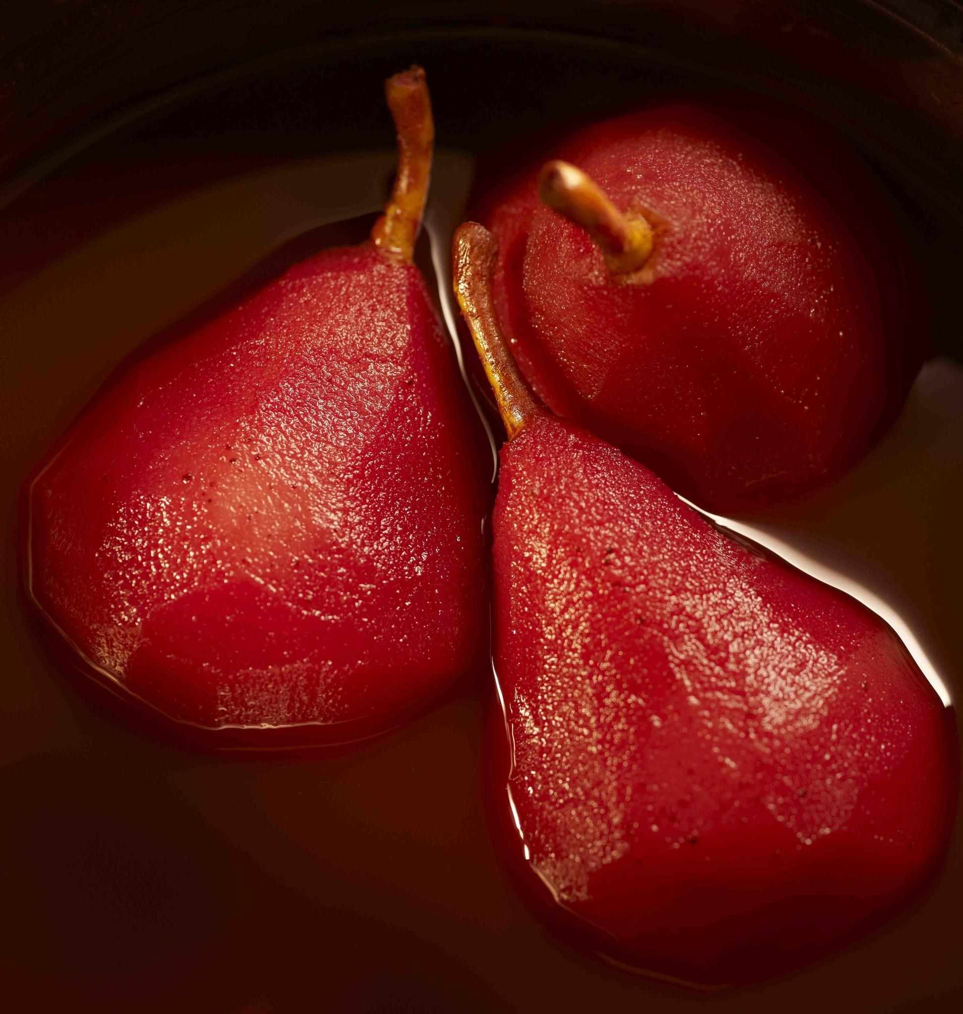 Rollade in honing-thijm saus, aardappelpuree & stoofpeertjes
