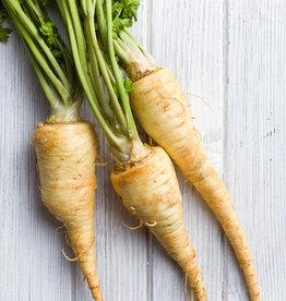 Pastinaak, paddenstoelen & vegetarische worst (V)