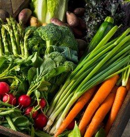 Wildboullion met fijne groenten
