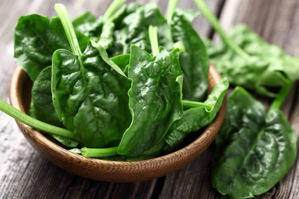 Stamppot van spinazie met  ei en vegetarische gehaktballetjes (V)