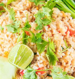 Babi pangang met groenten en rijst