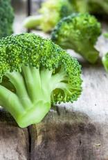 Broccolistamppot met een hamschijf en kaas