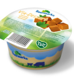 Boermarke caramel hopjes vla ONGEZOET