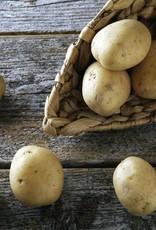 Runderlapje in rode wijnsaus, boontjes en aardappelen