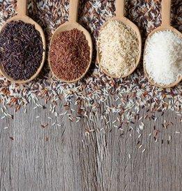 Mexicaanse rijstschotel met kidneybonen, groente & karbonade