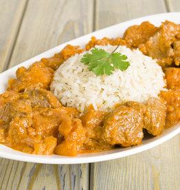 Kip Madras met boontjes & rijst
