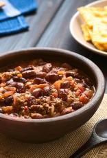 Chili con carne rundergehakt, groenten en ananas
