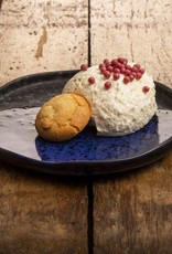 Bavarois van bitterkoekjes met chocolade parels