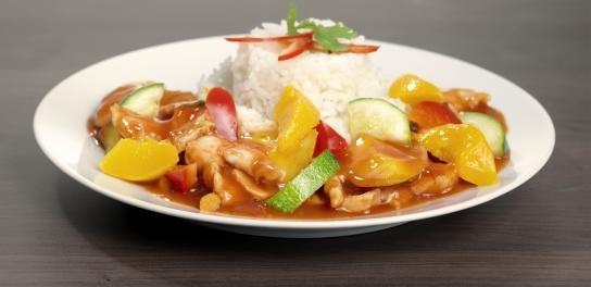 Quorn pilav, Franse groentenmix & witte rijst (Vegetarisch)