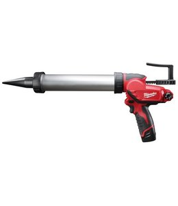 Milwaukee Milwaukee M12PCG/400A-201B accu kitpistool 400ML