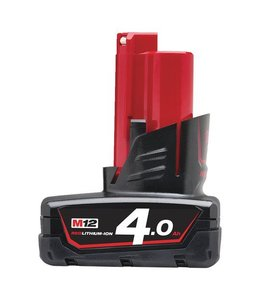 Milwaukee Accu Milwaukee M12B4 12,0V 4,0Ah Li-Ion