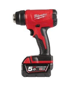 Milwaukee Milwaukee M18BHG-502C compact fohn/heteluchtpistool