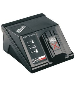 Milwaukee Accu lader  Milwaukee RCA7224 MB 7,2-24V Universeel 60min