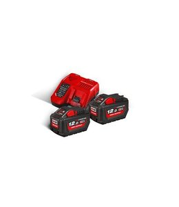 Milwaukee Accu Milwaukee M18HNRG-122 / 2 x 18,0V 12,0Ah Li-Ion + Lader