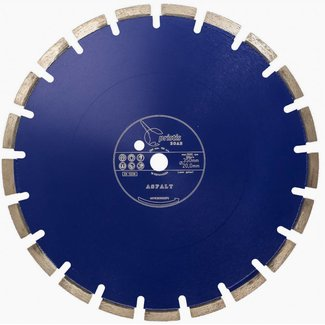 Pristis 350/20,0mm Pristis ZOAB diamz. BV/PS Asfalt laser gelast