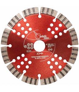 ZBM Diamond Tools 150/22,2mm Pristis Turbo-Power universeel rood