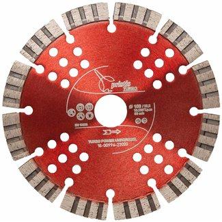 Pristis 150/22,2mm Pristis Turbo-Power universeel rood
