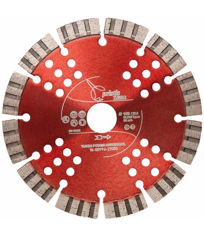 ZBM Diamond Tools Diamantzaag-150/22,2mm Pristis Turbo-Power universeel rood