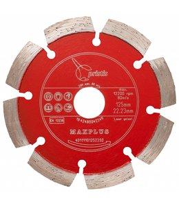 ZBM Diamond Tools 125/22,2mm Pristis Maxplus universeel rood