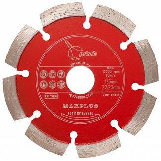Pristis 125/22,2mm Pristis Maxplus universeel rood