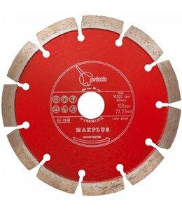 ZBM Diamond Tools 150/22,2mm Pristis Maxplus universeel rood
