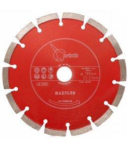 ZBM Diamond Tools 180/22,2mm Pristis Maxplus universeel rood