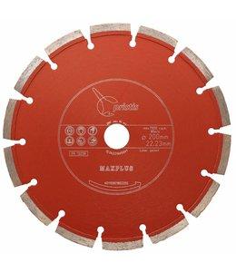 ZBM Diamond Tools 200/22,2mm Pristis Maxplus universeel rood